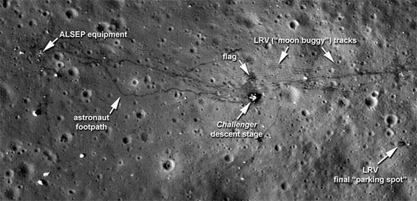 Moon Landing Images